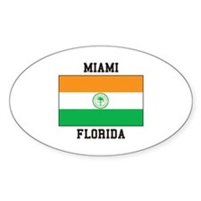 Miami Florida USA Decal