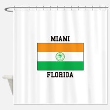 Miami Florida USA Shower Curtain