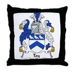 Tay Family Crest Throw Pillow