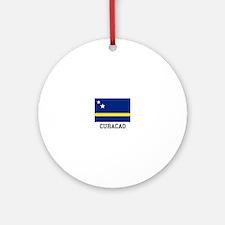 Curacao, Flag Ornament (Round)