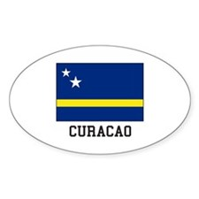 Curacao, Flag Decal