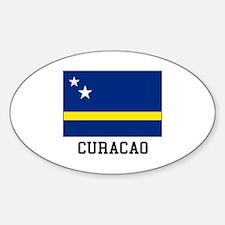 Curacao, Flag Decal