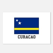 Curacao, Flag Postcards (Package of 8)