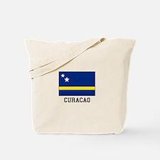 Curacao, Flag Tote Bag