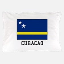 Curacao, Flag Pillow Case