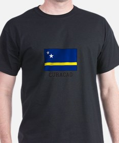 Curacao, Flag T-Shirt