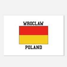 Wroclaw Poland Postcards (Package of 8)