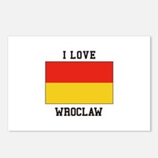 I Love Wroclaw Postcards (Package of 8)