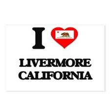 I love Livermore Californ Postcards (Package of 8)