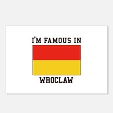 I'm Famous In Wroclaw Postcards (Package of 8)