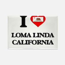 I love Loma Linda California Magnets