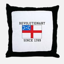 Revolutionary since 1789 Throw Pillow