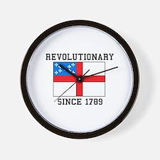 Revolutionary since 1789 Wall Clock