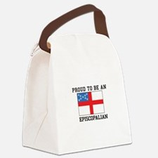 Proud be an Episcopal Flag Canvas Lunch Bag