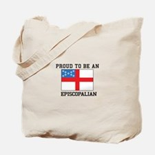 Proud be an Episcopal Flag Tote Bag