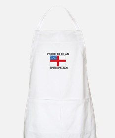 Proud be an Episcopal Flag Apron