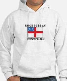 Proud be an Episcopal Flag Hoodie