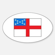 Episcopal Flag Decal