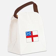 Episcopal Flag Canvas Lunch Bag