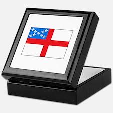 Episcopal Flag Keepsake Box