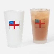 Episcopal Flag Drinking Glass