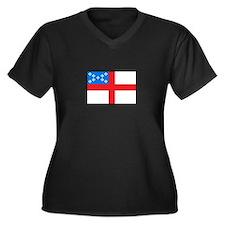 Episcopal Flag Plus Size T-Shirt
