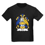 Tapp Family Crest Kids Dark T-Shirt