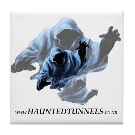 Ghost Canada - Haunted Tunnels Tile Coaster