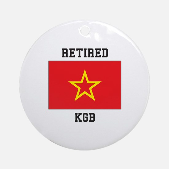 Soviet red Army Flag Ornament (Round)