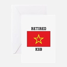 Soviet red Army Flag Greeting Cards