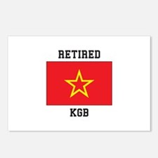 Soviet red Army Flag Postcards (Package of 8)