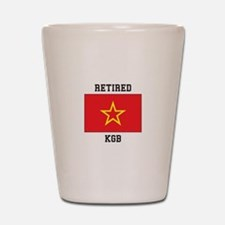 Soviet red Army Flag Shot Glass