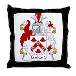 Tankard Family Crest Throw Pillow