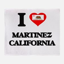 I love Martinez California Throw Blanket
