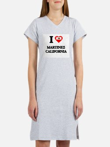 I love Martinez California Women's Nightshirt
