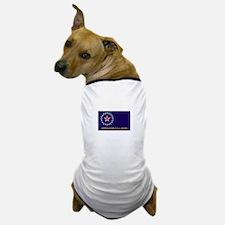 Springfield, Illinois Flag Dog T-Shirt