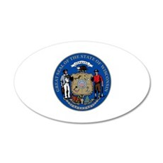 Wisconsin State Seal Wall Decal