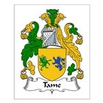 Tame Family Crest Small Poster
