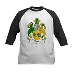 Tame Family Crest Kids Baseball Jersey