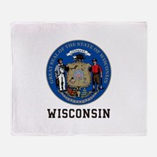 Wisconsin Throw Blanket