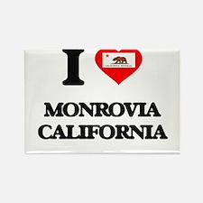 I love Monrovia California Magnets