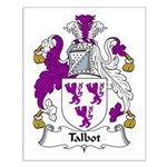 Talbot Family Crest Small Poster