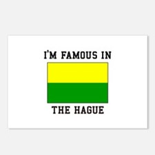 I'M Famous in The Hague Postcards (Package of 8)
