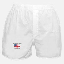 The Episcopal church welcomes you Boxer Shorts