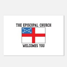 The Episcopal church welcomes you Postcards (Packa