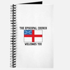 The Episcopal church welcomes you Journal