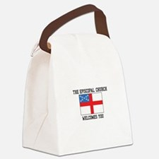 The Episcopal church welcomes you Canvas Lunch Bag