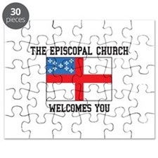 The Episcopal church welcomes you Puzzle