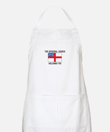 The Episcopal church welcomes you Apron