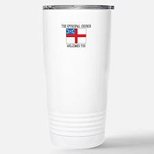 The Episcopal church welcomes you Travel Mug